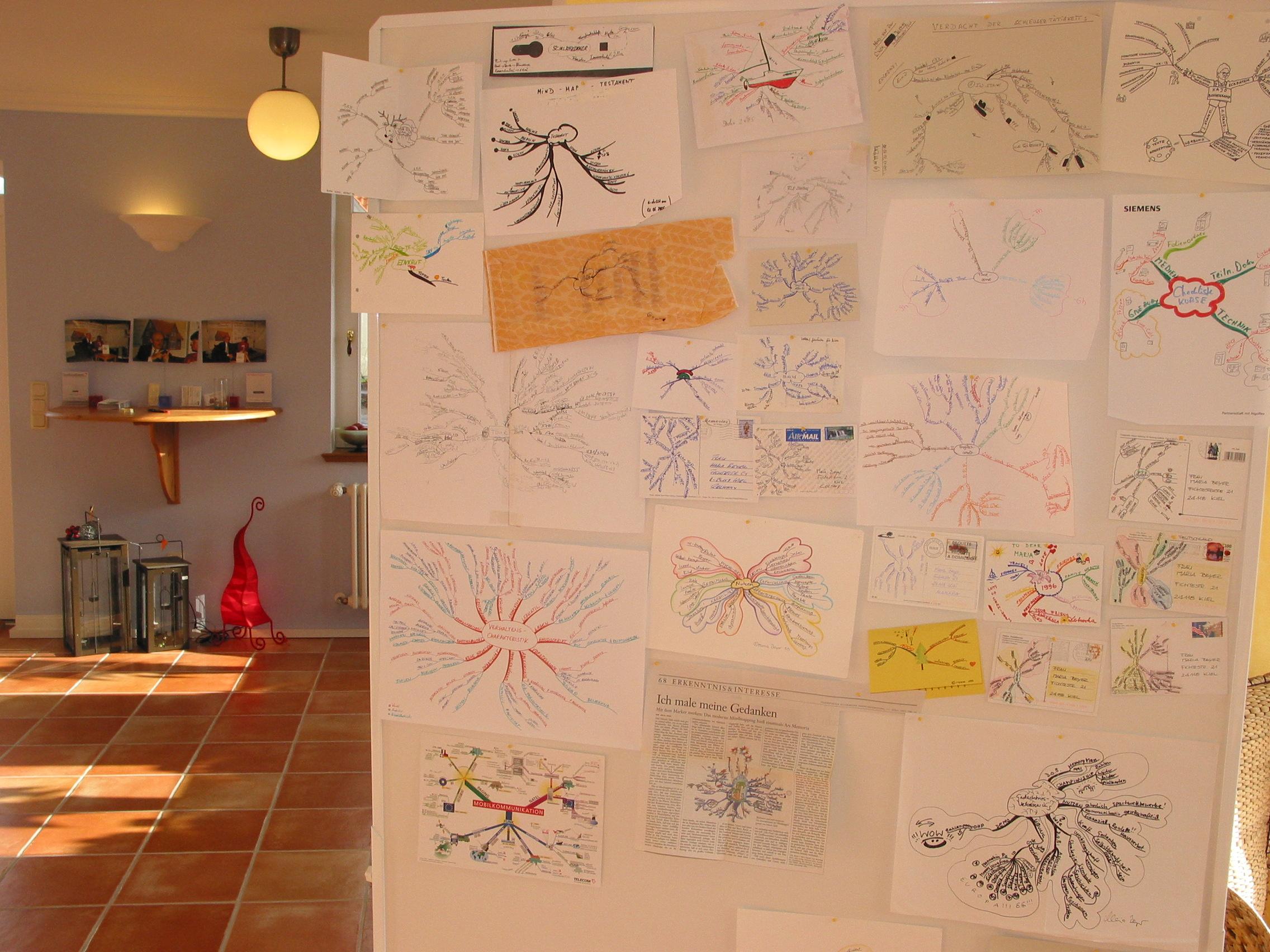LandhausKreativ Axel Ohmes Schulungszentrum Digitales Mind Mappen Vernissage groß  IT-Seminare Methodenseminare Bremen Oldenburg
