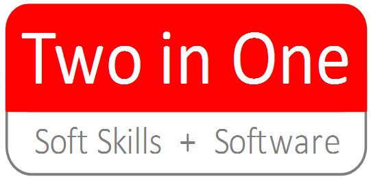 Two in One Softskills und Software Logo Axel Ohmes